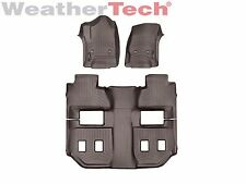 WeatherTech FloorLiner for Suburban/Yukon XL w/Bucket Seats - 2015-2019 - Cocoa