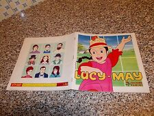 ALBUM LUCY MAY PANINI 1983 COMPLETO BELLO ORIGINALE TIPO LADY OSCAR CREAMY LULU
