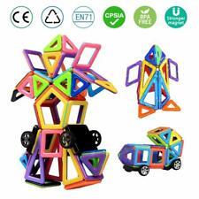 Spielzeug Spiel Magnetische Bausteine Magnet Bauklötze Konstruktion DIY 76 Teile