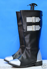 Tales of Rebirth Veigue Lungberg Boots Cosplay Shoes Custom Made < Lotahk >