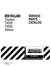 NEW HOLLAND T4020,T4030 DELUXE TRACTORS PARTS CATALOG