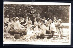 1¢ WONDER ~ CENTRAL WESYLAN COLLEGE DEVIL DEW HOLLOW REAL PHOTO 1911 ~ N504