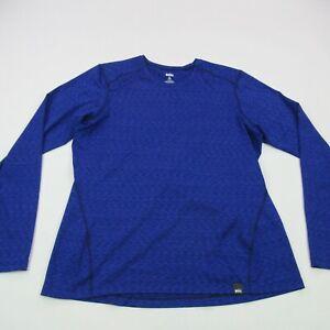 REI Shirt Women's XL Purple Long Sleeve Casual Activewear Regular Fit