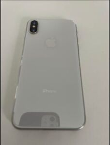 Apple iPhone X - 64GB - Silver (Unlocked)