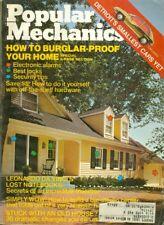 1975 Popular Mechanics Magazine: Burglar-Proof Your Home/DaVinci's Lost Notebook