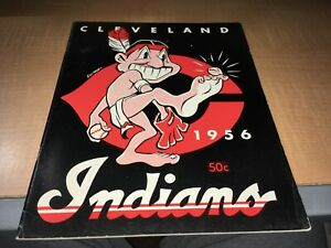 Cleveland Indians 1956 Baseball Yearbook