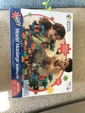 Movin' Monkeys Building Set - Educational Gears & Cogs Construction Toy With Box