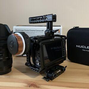 Blackmagic Design 6K Pocket Cinema Camera - CINECAMPOCHDEF6K
