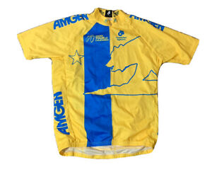 Amgen Tour Of California Men's champion System Cycling Jersey Size 2XL