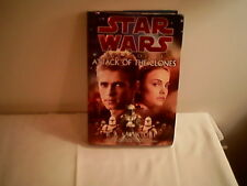 New listing Star Wars Episode Ii The Attack Of The Clones 2002 hard cover book R A Salvatore