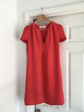 Vanessa Bruno Athe Summer Coral Dress 36 - Super Cute! Uk 8