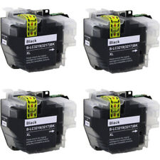 4 Compatible LC3219 (LC3217) BK XL inks for Brother J6935DW J5330DW  J5335DW