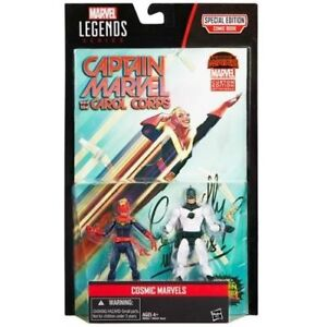 "Marvel Legends Captain Marvel comic pack 3.75"" Action figure Damaged Packaging"