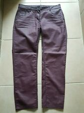 Pantalon simili cuir prune 44