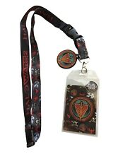 Halo Wars 2 UNSC Spirit of Fire Lanyard Badge ID Holder with Charm Sticker 2017