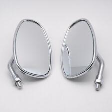 Chrome Motorcycle Side Mirrors For HONDA NRX1800 VTX1300 VTX1800