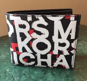 Authentic Michael Kors Men's Cooper Leather Billfold Wallet