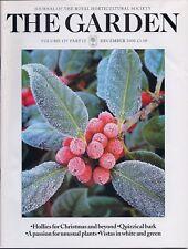 RHS THE GARDEN Magazine - December 2000