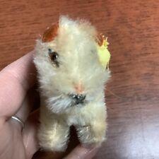 "RARE Steiff Foxy Fox Terrier 3.5"" W/ Button ID Excellent Vintage Condition"