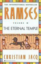 Ramses Volume II: The Eternal Temple, Christian Jacq, 0446673579, Book, Acceptab