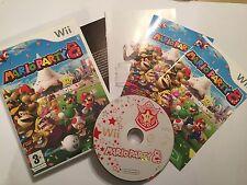 ORIGINAL PAL NINTENDO Wii Wii-U GAME SUPER MARIO PARTY 8 / VIII COMPLETE