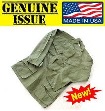 Nos Us Military Jungle Fatigue Combat Tropical Shirt Jacket Poplin Og107 Vietnam
