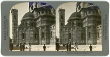 Stereo, Stereo Travel Co., Cathedral showing Campanile, Florence, Italy Vintage