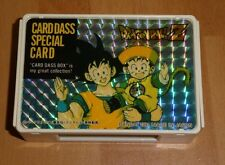 DRAGON BALL Z DBZ CARDDASS BOX SPECIAL CARD CARTE GOKU & GOHAN U.RARE JAPAN 1991