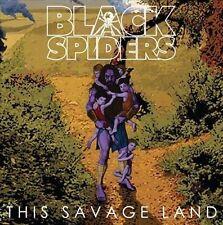 Black Spiders This Savage Land UK vinyl LP NEW sealed