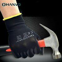 1/3/5 Pairs Work Household Nylon Gloves Non-slip Breathable Garden Work Gloves