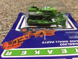 Earth Breaker Green Bulldozer, Die Cast 1/64 Scale. New in Original Package