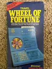 Wheel of Fortune Game Travel Edition 1988
