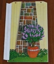 Vintage 1970 Barbie Lively Livin House Panel Part Wall Outside Chimney Fireplace