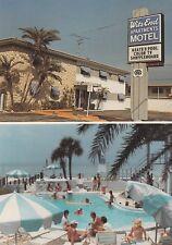"*Florida Postcard-""Wits End Motel"" -Medeira Beach/2 Small Pics/1 Postcard-(U2-9)"