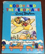 Vintage NODDY AND THE AEROPLANE book #24 by ENID BLYTON London England Hardback