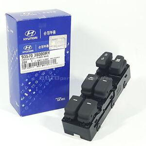 Genuine 935703S000RY Front Power Window Main Switch For Hyundai i45 2011-2014