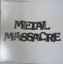 Mustaine Hit the Lights Metallica METAL MASSACRE Metalworks  2nd press U.S. 1982