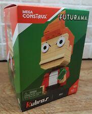 Mega Construx kubros Futurama Fry Figura De Bloque Nuevo Sellado Lego UK Raro 30