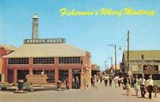 Monterey California Quaint Fishermans Wharf Vintage Postcard K35662