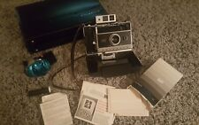 Vintage Polaroid 250 Land Camera with extras Excellent!