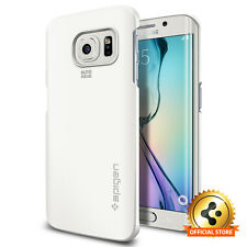 [Spigen Factory Outlet] Samsung Galaxy S6 Edge Case Thin Fit Shimmery White