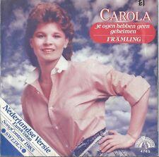 "Carola ""Je ogen hebben geen geheimen"" In Dutch Eurovision Sweden 1983"