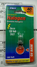 Feit Electric BPQ40/G9 40-Watt Bi-Pin G9 Clear Base Halogen Bulb
