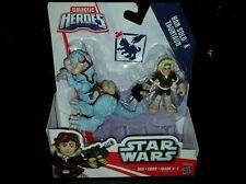 2015 Star Wars Galactic Heroes Hoth Tauntaun & Han Solo - Playskool