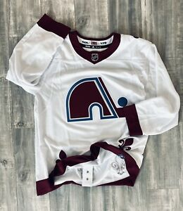 BNWT Authentic NHL Colorado Avalanche Reverse Retro Adidas Hockey Jersey Sz 54