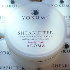 Yokumi Sheabutter Aroma Lovely Rose unraffiniert raw bio vegan 50ml Naturkosmeti