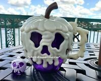 Disney Poison Apple Cup and Glow Cube Purple Snow White Evil Queen lights up NEW