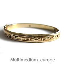 Pierre Lang bracelet massif plaqué or signé Bracelet Bracelet s'applique signed