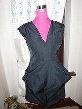 Simply beautiful All Saints Rhine Corset Dress Black Size 6 VGC