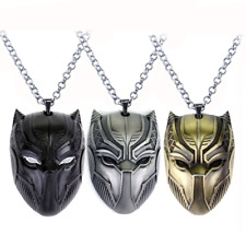 Black Panther Pendant Necklace Civil War Superhero Marvel Avengers Movie Jewelry